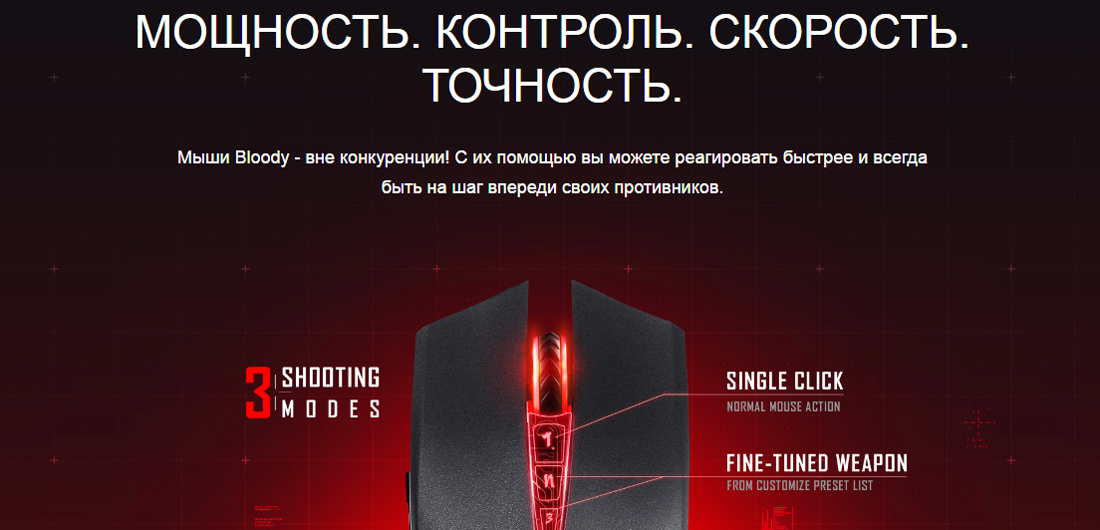 Мышь A4Tech Bloody V5MA Activated
